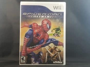 Spiderman Friend Or Foe Front