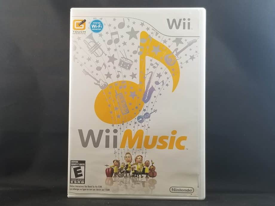 Wii Music Front