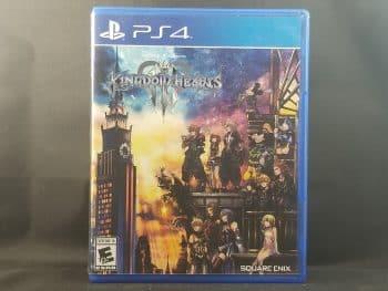 Kingdom Hearts III Front