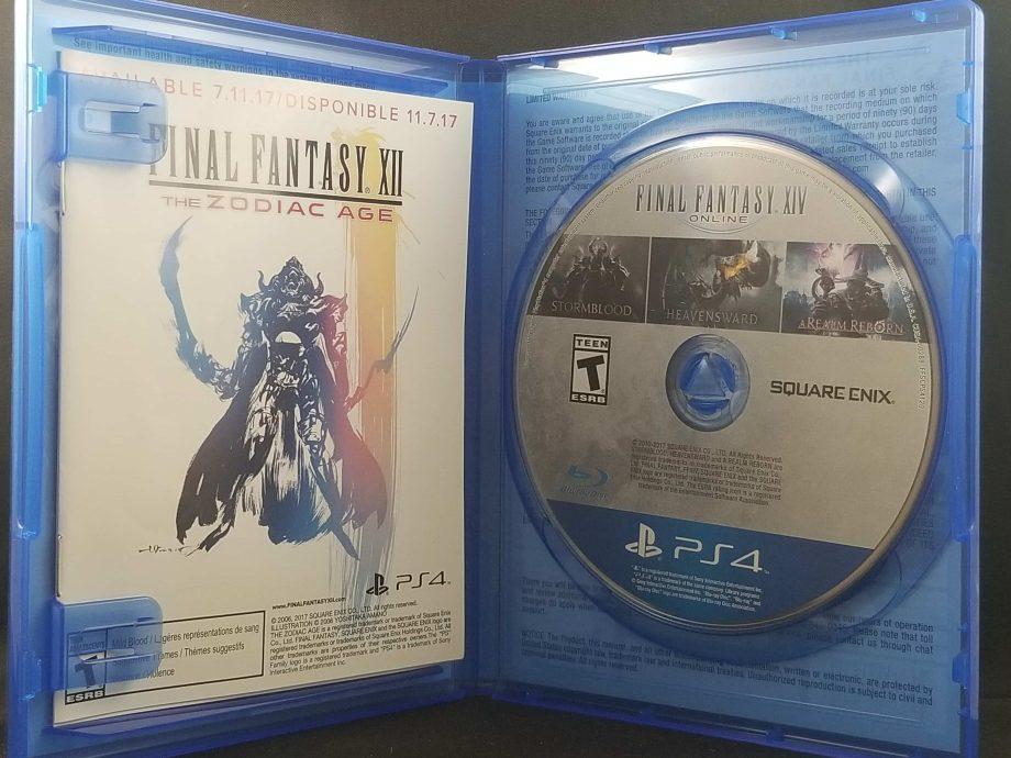 Final Fantasy XIV Online Complete Edition Disc