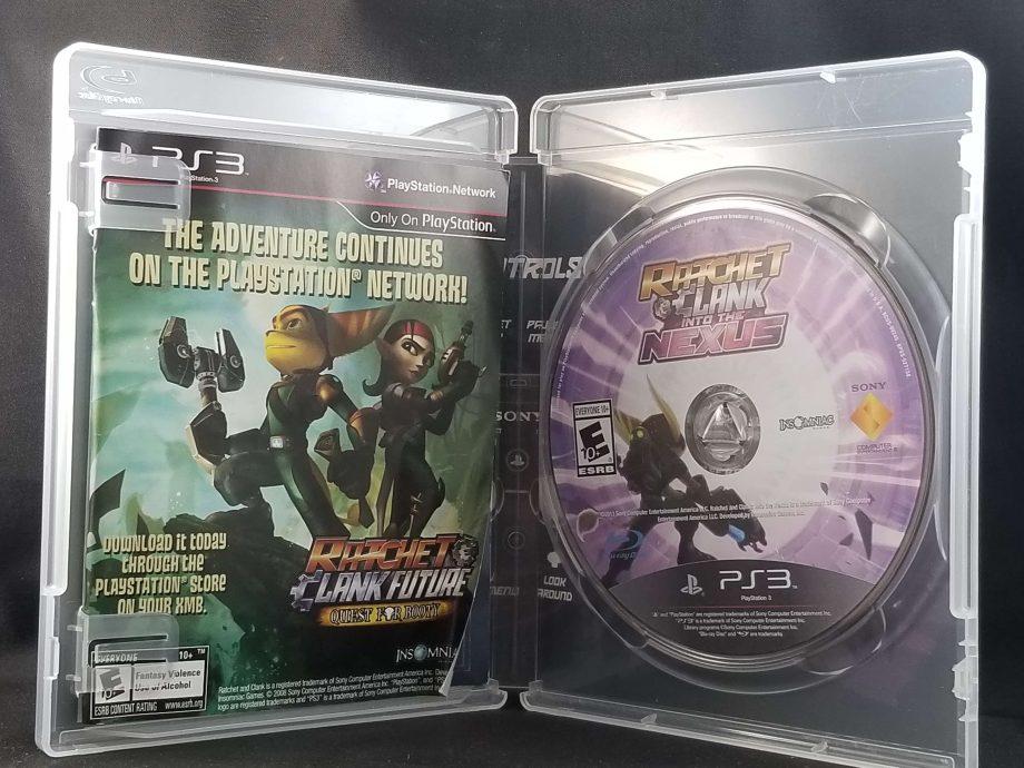 Ratchet & Clank Into The Nexus Disc