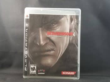 Metal Gear Solid 4 Guns Of The Patriots Front