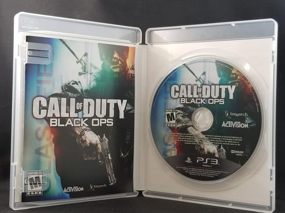Call Of Duty Black Ops Disc