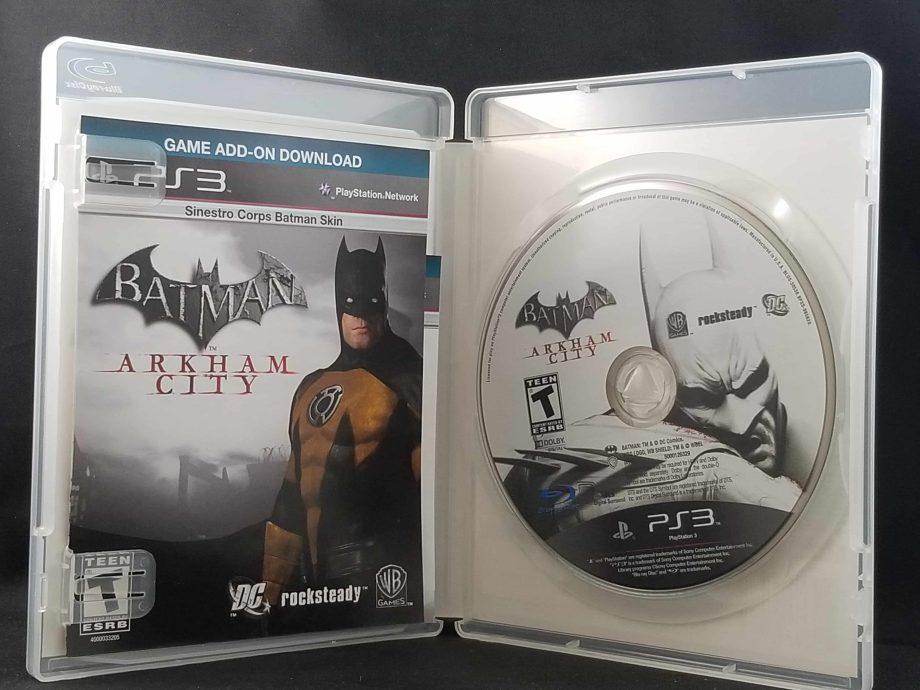 Batman Arkham City Disc