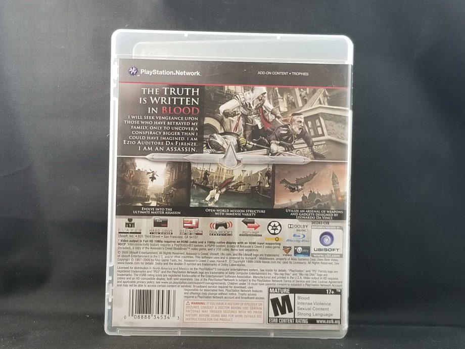 Assassin's Creed II Back