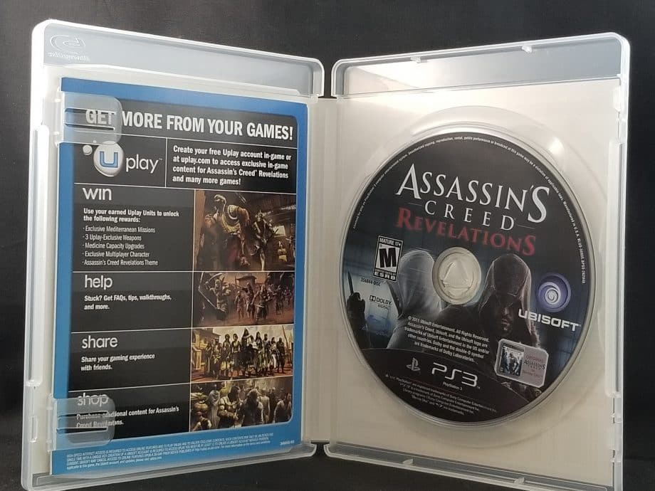 Assassin's Creed Revelations Disc
