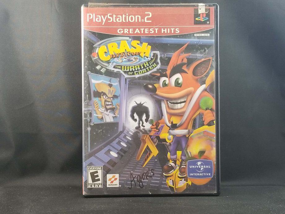 Crash Bandicoot The Wrath Of Cortex Front