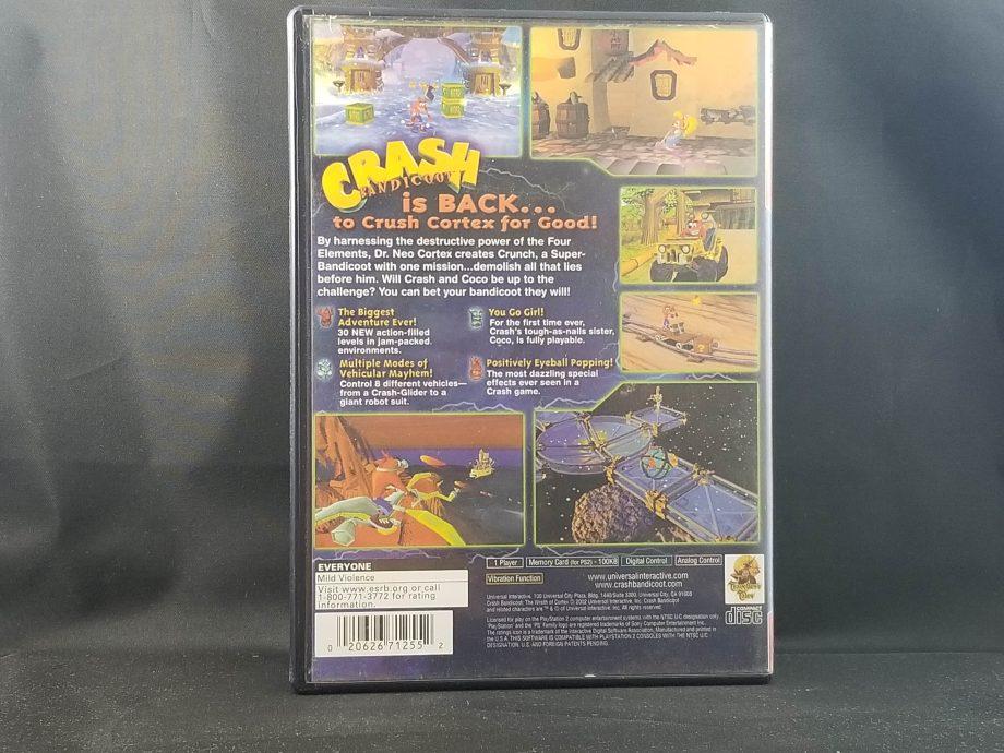 Crash Bandicoot The Wrath Of Cortex Back