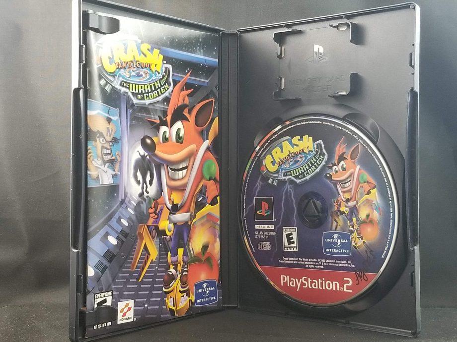 Crash Bandicoot The Wrath Of Cortex Disc