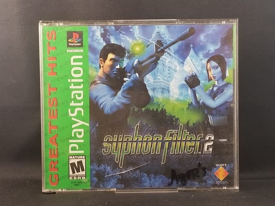 Syphon Filter 2 Front