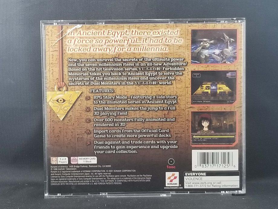 Yu-Gi-Oh Forbidden Memories Back