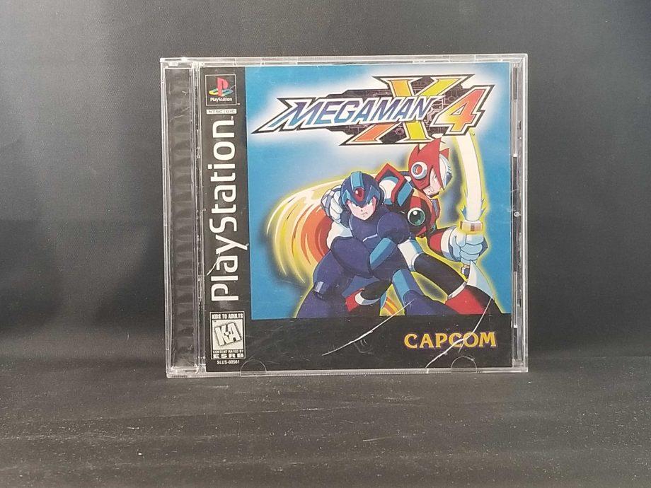 Mega Man X4 Front