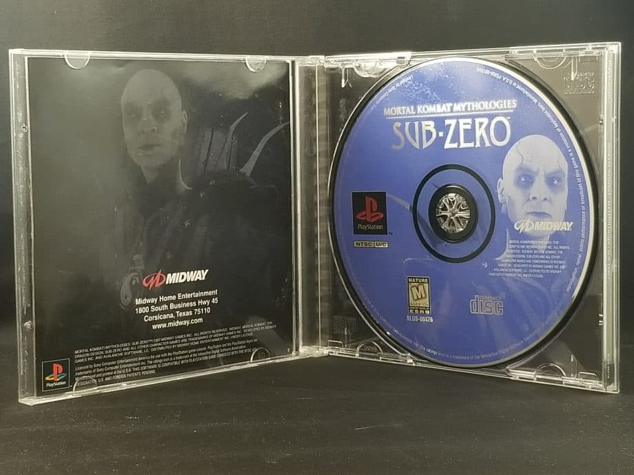 Mortal Kombat Mythologies Sub-Zero Disc