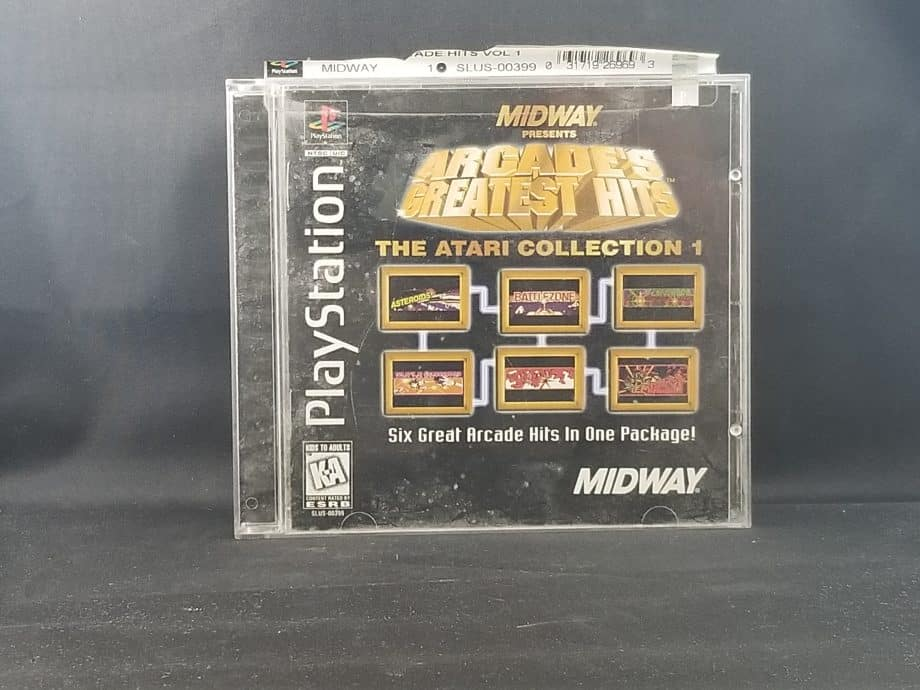 Arcade's Greatest Hits Atari Collection 1 Front