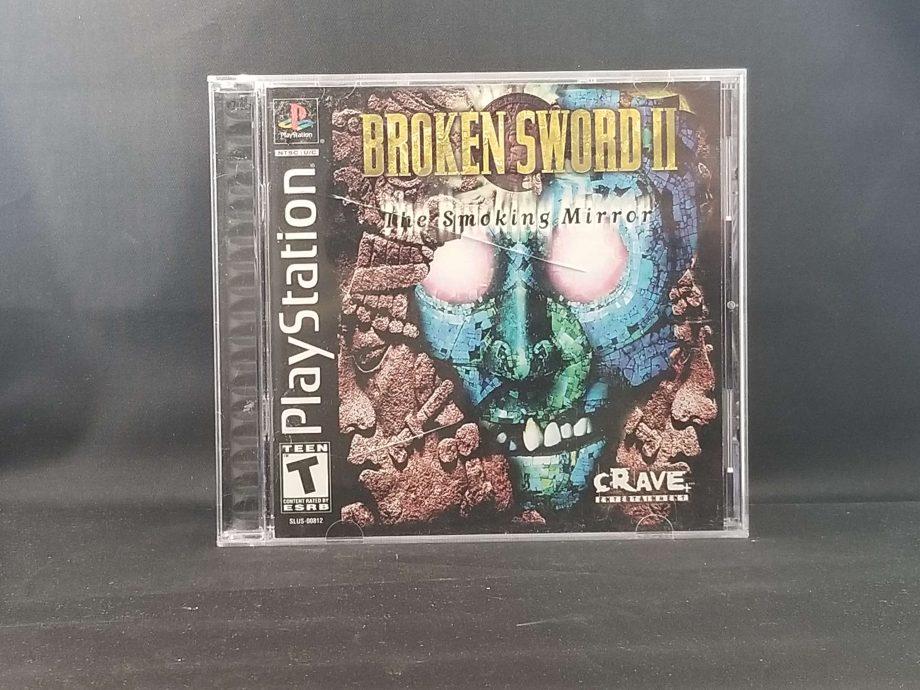 Broken Sword 2 The Smoking Mirror Front