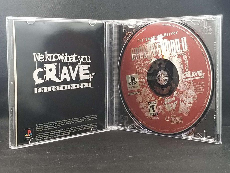Broken Sword 2 The Smoking Mirror Disc