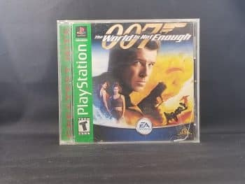 007 The World Is Not Enough Front