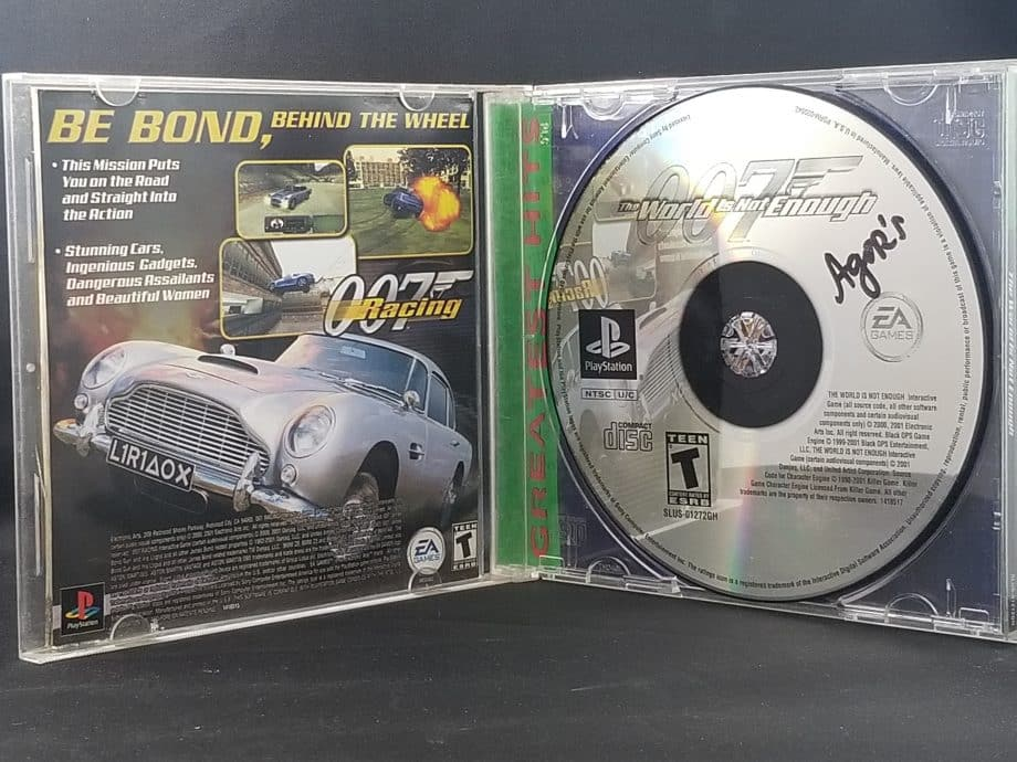 007 The World Is Not Enough Disc