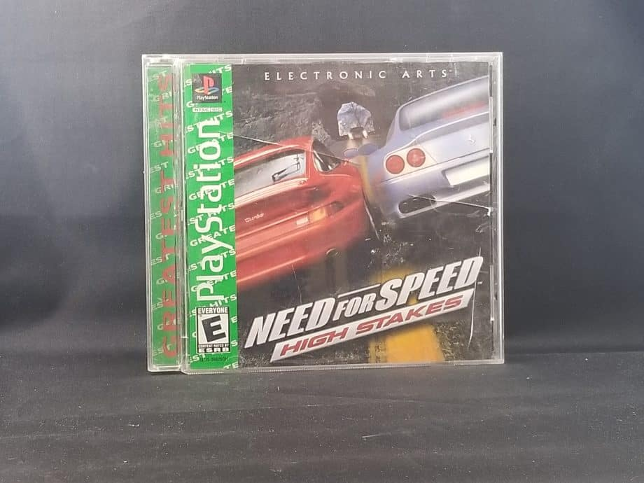 Need For Speed High Stakes Front