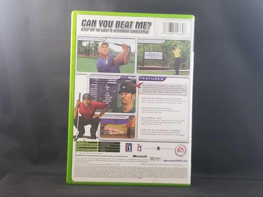 Tiger Woods 2004 Back