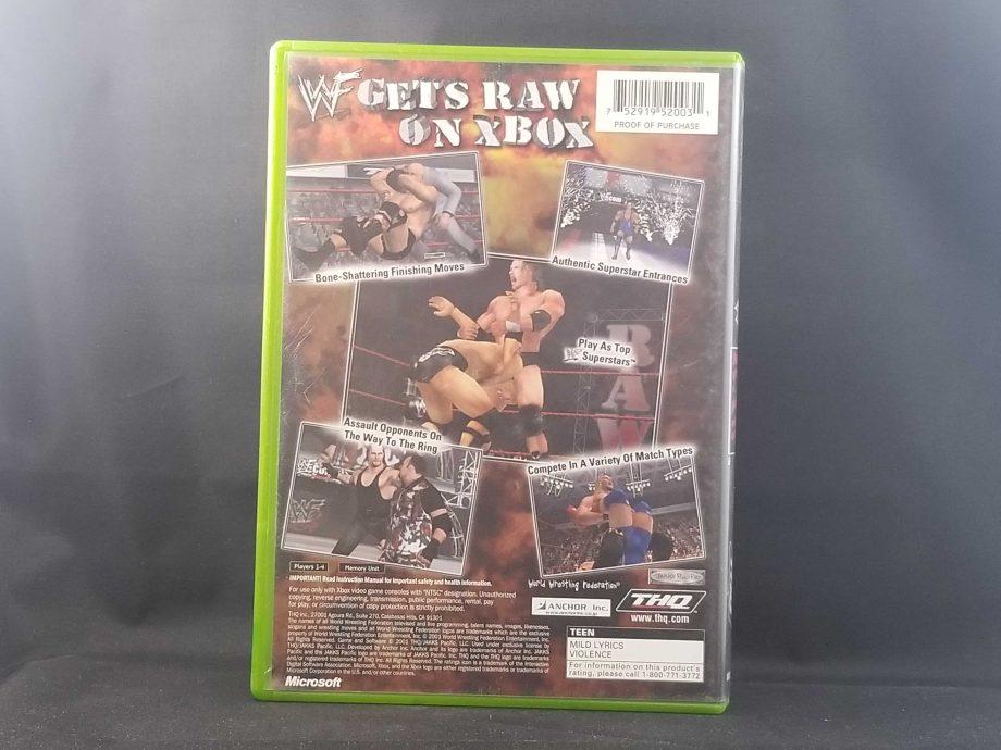 WWF Raw Back