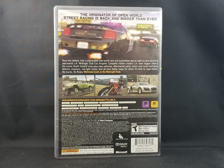 Midnight Club Los Angeles [Complete Edition]
