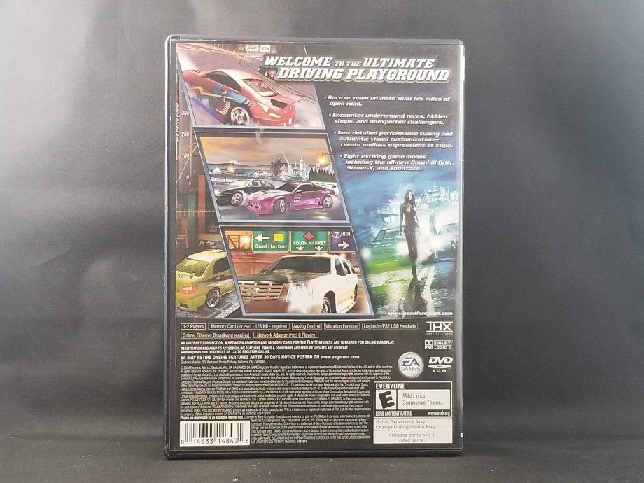 Need For Speed Underground 2 Back