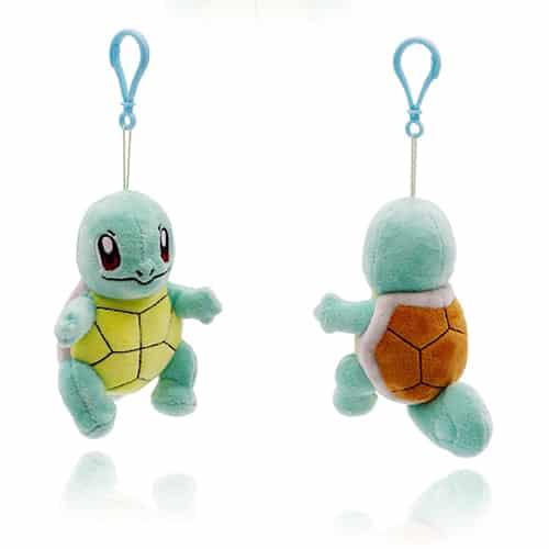 Pokemon Squirtle Plushie Keychain