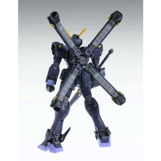 Master Grade Crossbone Gundam X2 Ver. Ka Pose 3