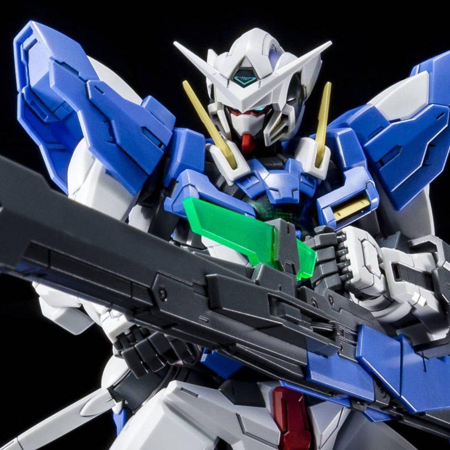 Master Grade Gundam Exia Repair III Pose 3