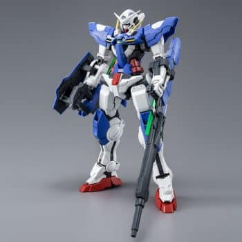 Master Grade Gundam Exia Repair III Pose 1