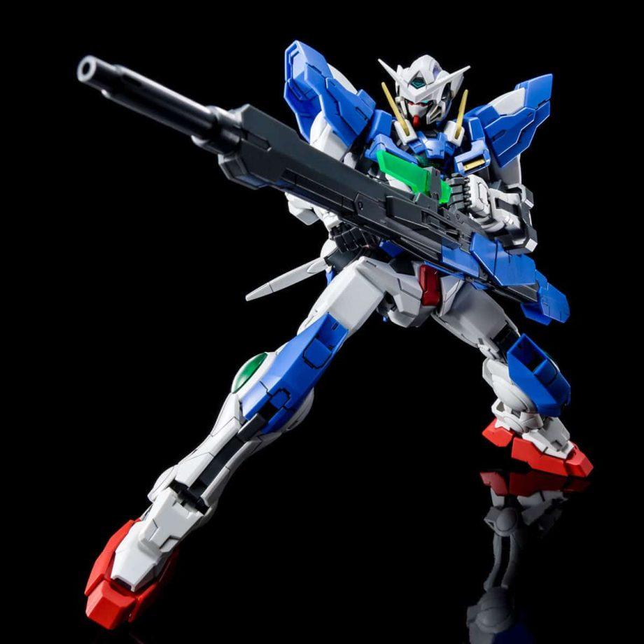 Master Grade Gundam Exia Repair III Pose 4