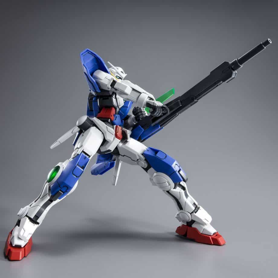 Master Grade Gundam Exia Repair III Pose 5