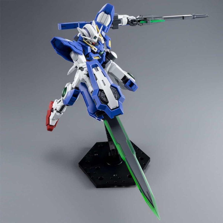 Master Grade Gundam Exia Repair III Pose 7