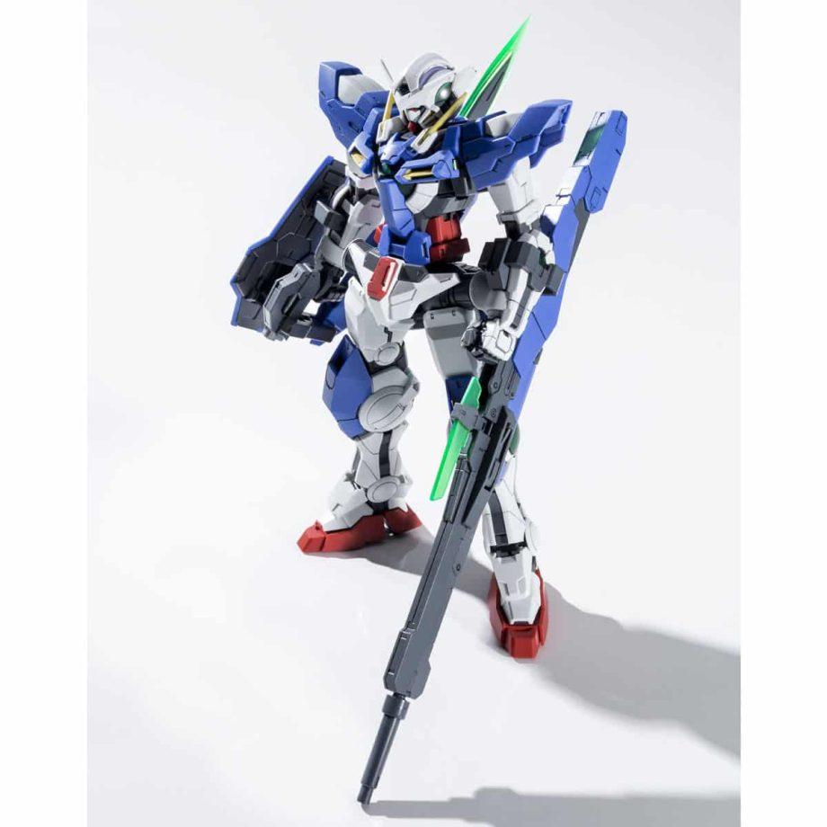 Master Grade Gundam Exia Repair III Pose 8