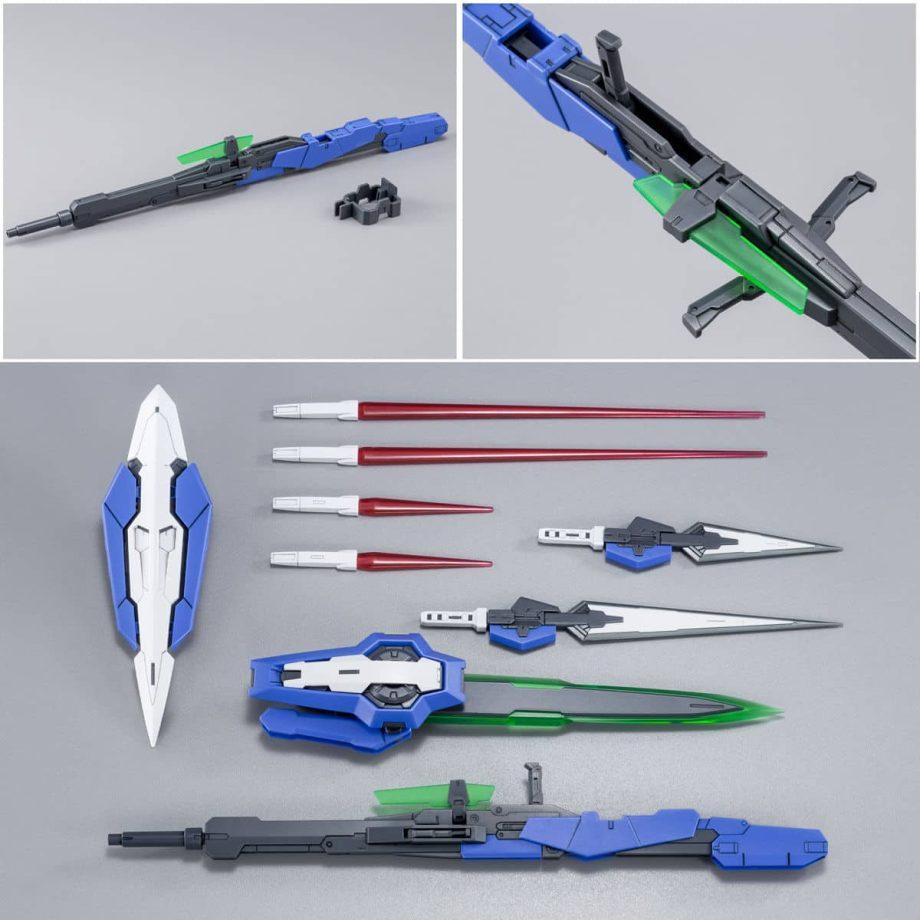 Master Grade Gundam Exia Repair III Pose 9