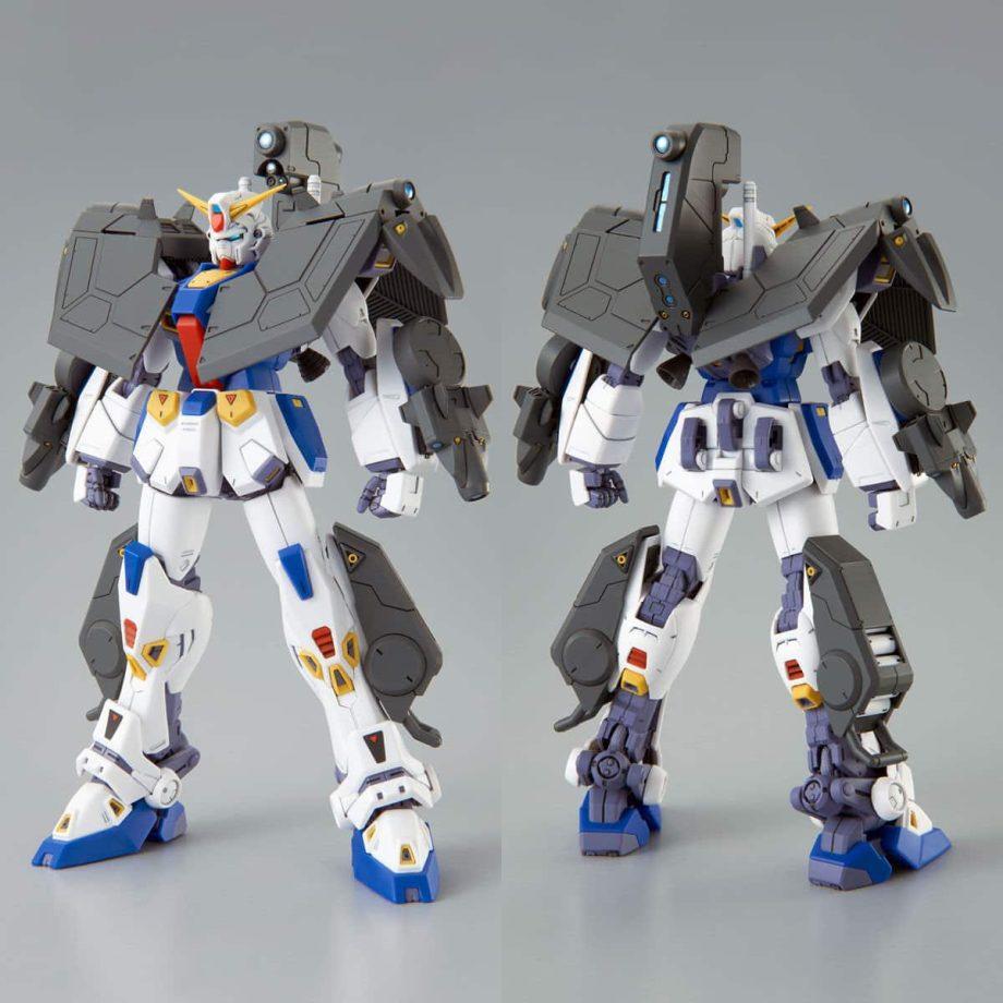 Master Grade Mission Pack R Type & V Type for Gundam F90 Pose 3
