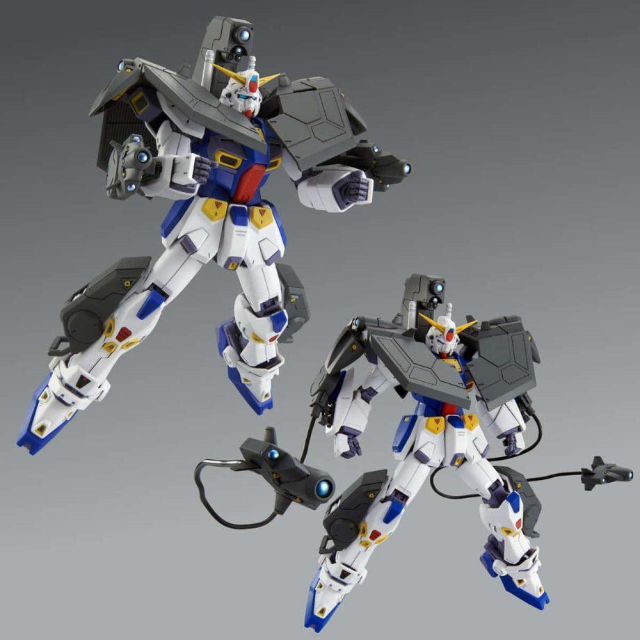 Master Grade Mission Pack R Type & V Type for Gundam F90 Pose 5