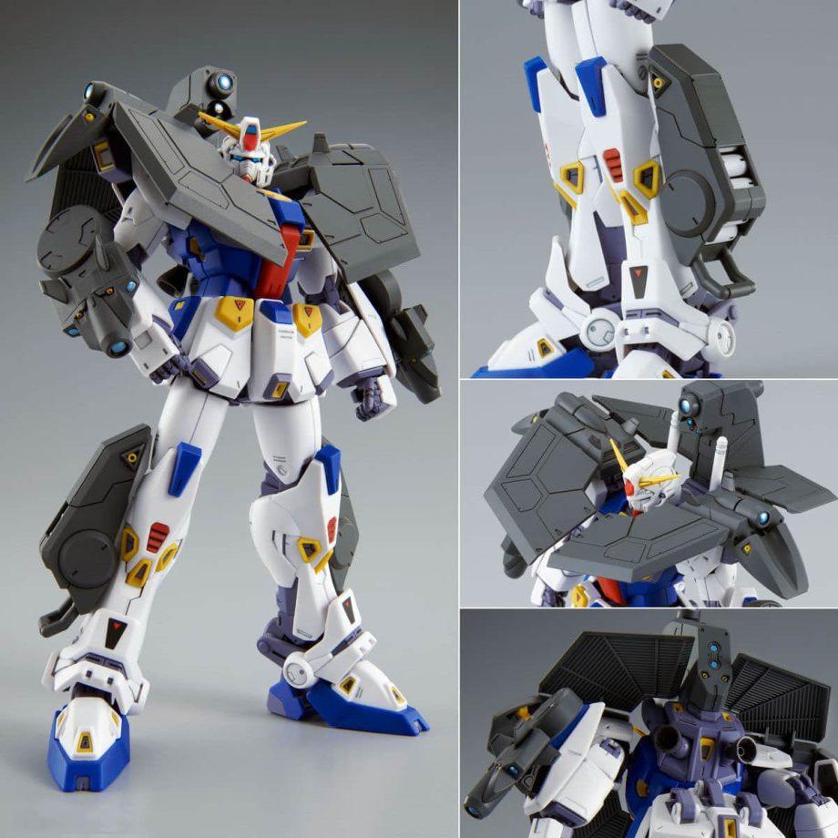Master Grade Mission Pack R Type & V Type for Gundam F90 Pose 8