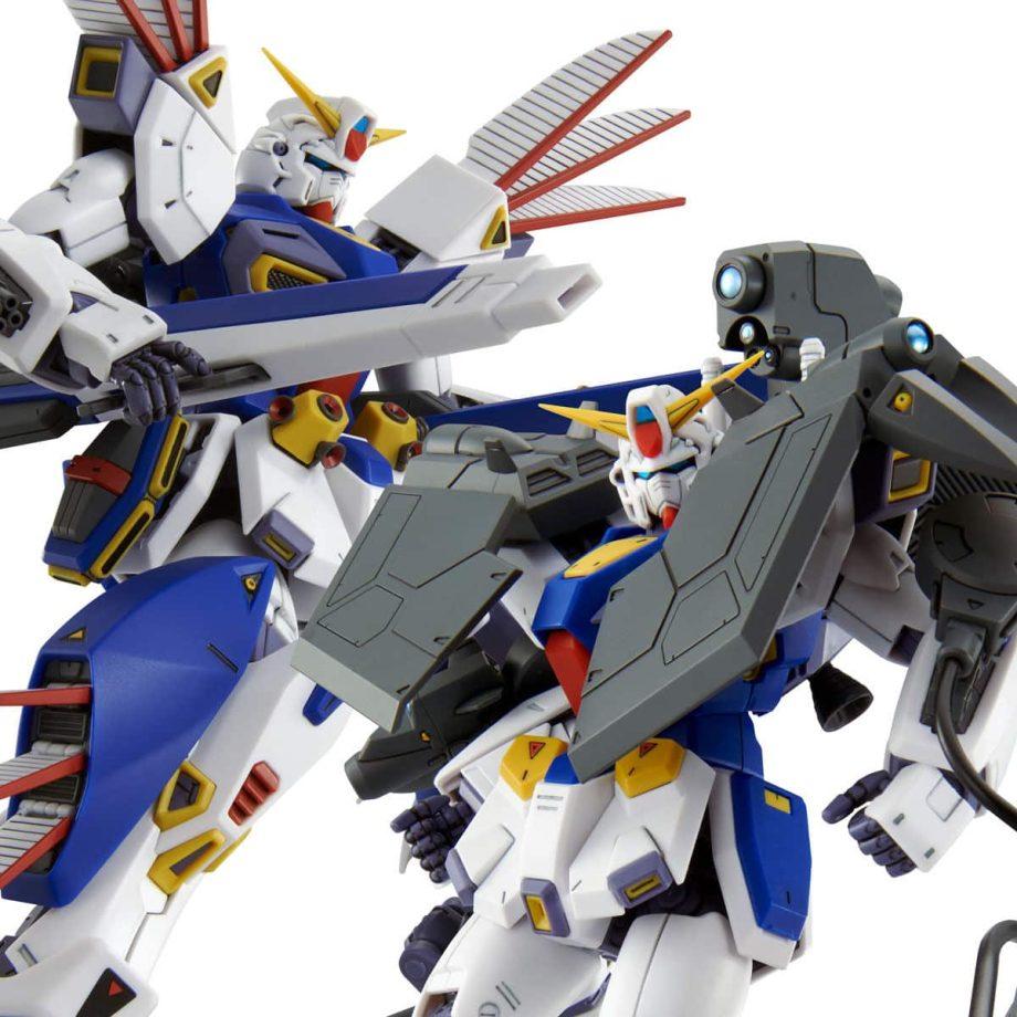 Master Grade Mission Pack R Type & V Type for Gundam F90 Pose 10