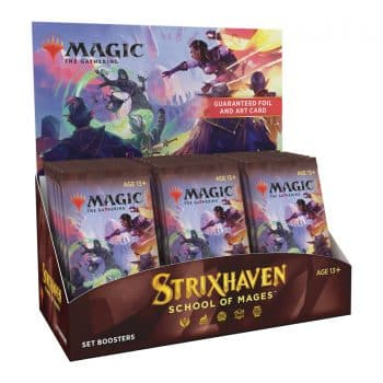 Strixhaven School Of Mages Set Booster