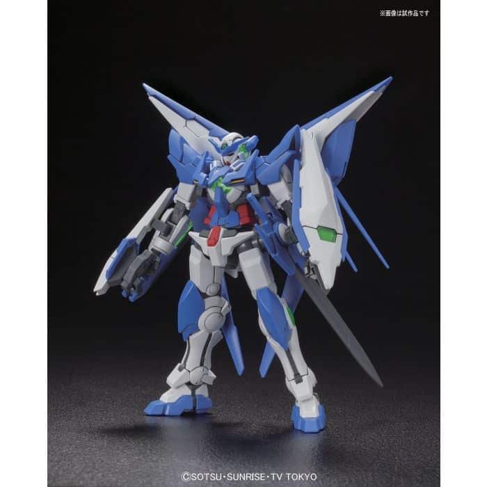 High Grade Gundam Amazing Exia Pose 1