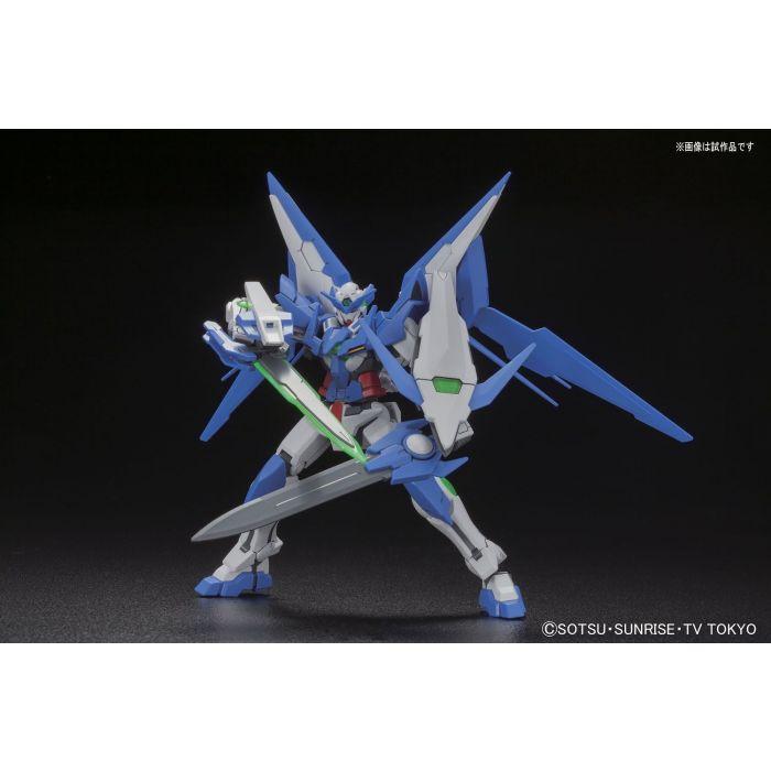 High Grade Gundam Amazing Exia Pose 3