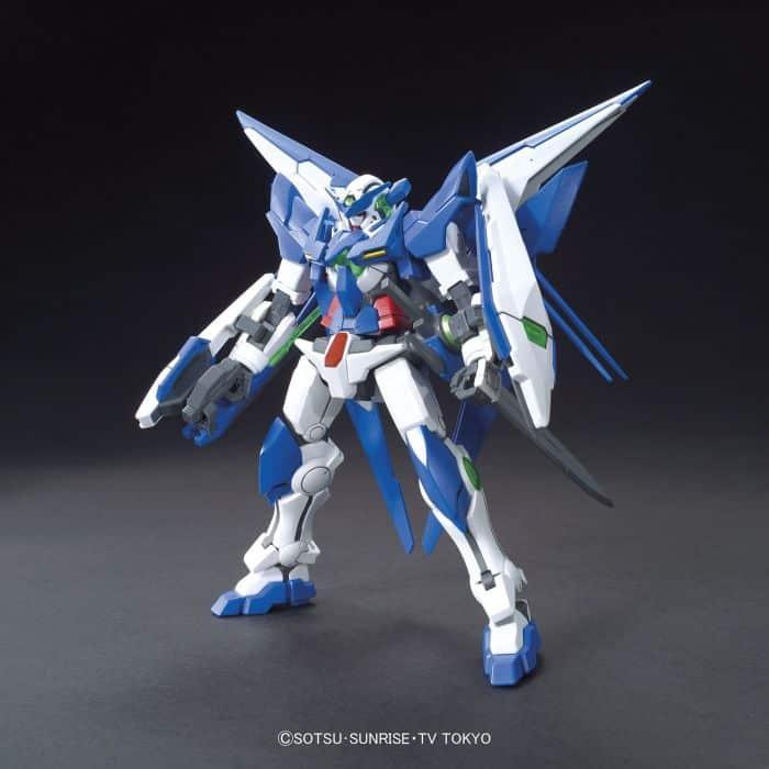 High Grade Gundam Amazing Exia Pose 6