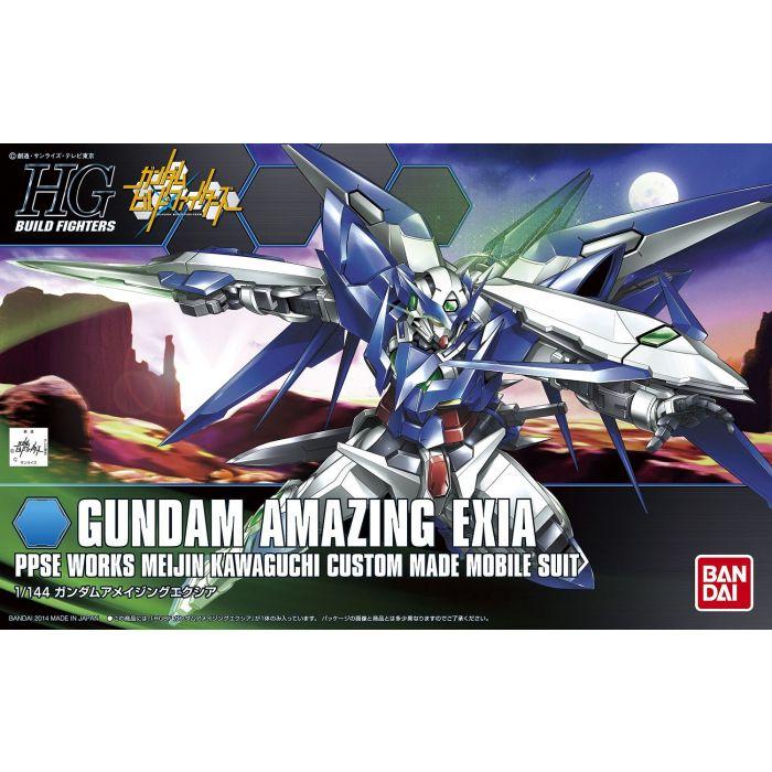 High Grade Gundam Amazing Exia Box