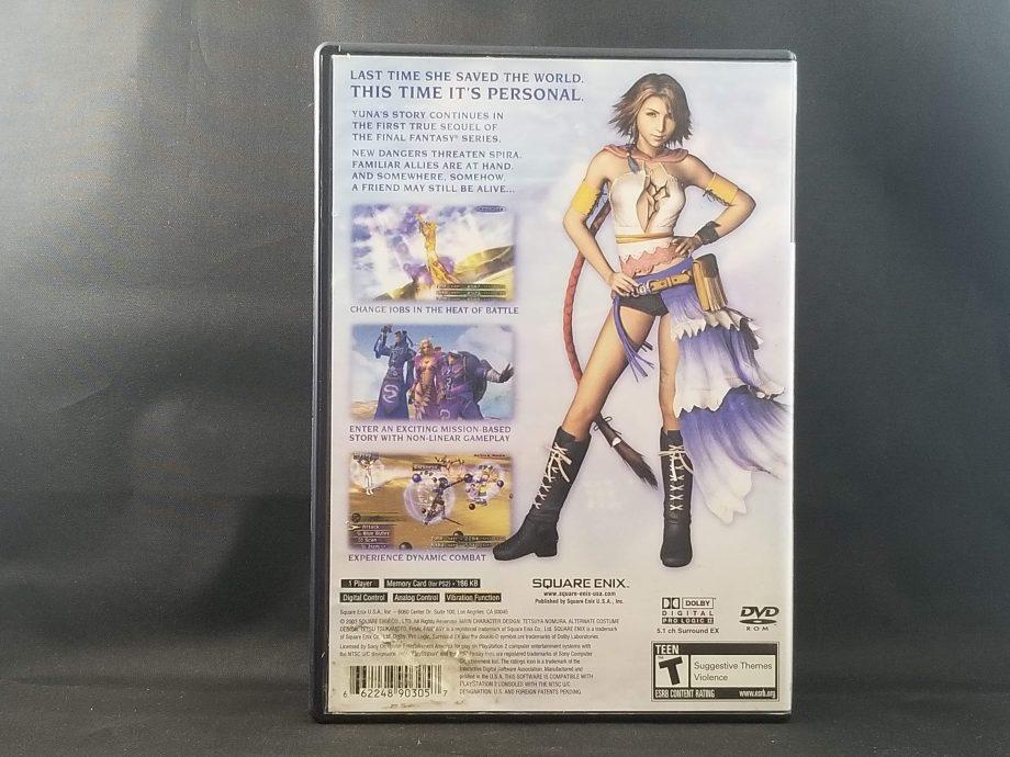 Final Fantasy X-2 Back