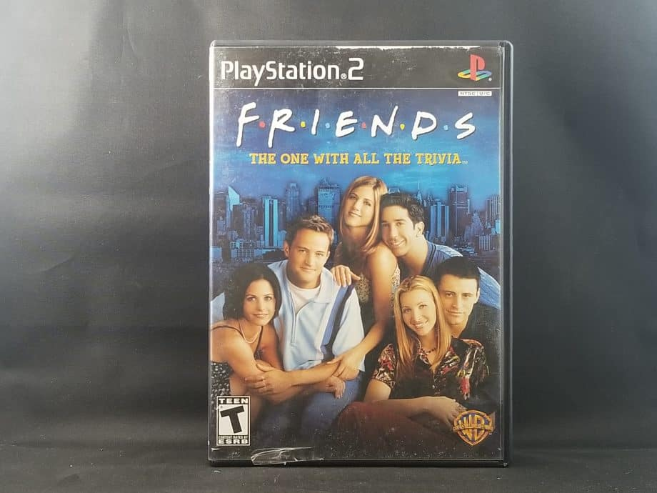 Friends The One With All The Trivia Front