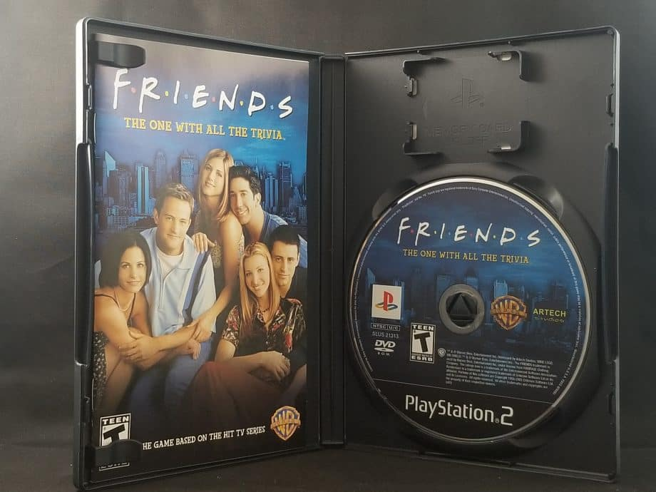 Friends The One With All The Trivia Disc