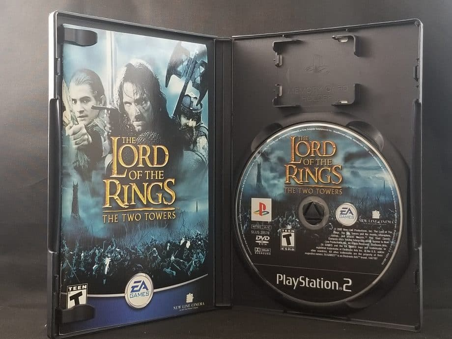 Lord Of The Rings Two Towers Disc