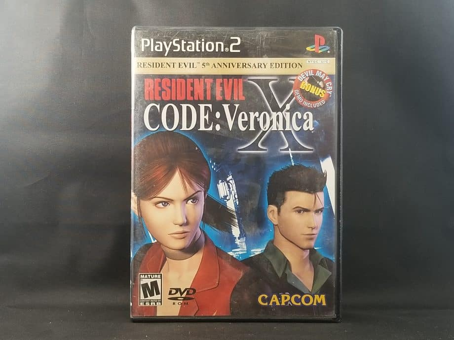 Resident Evil Code Veronica X Front